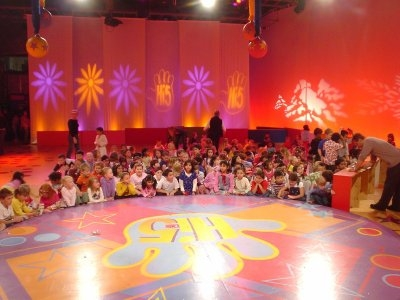 Our POV on the set of Hi-5