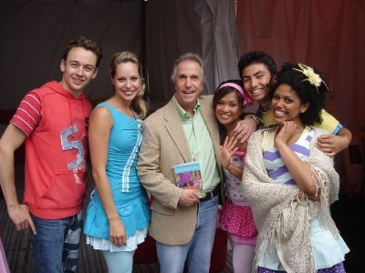Backstage with Henry Winkler